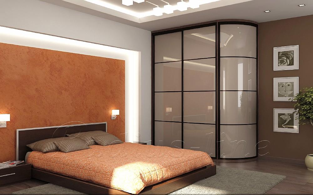 дизайн шкафа-купе для спальни фото